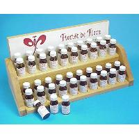 Fragrant oils - 4-bootles (15ml) on wooden stand