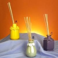 Reed diffusers with fancy pots