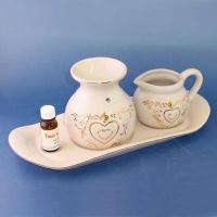 Regency - Oil burner set Including oil burner, water jar and oblong tray